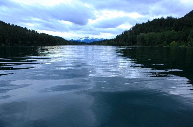 Becalmed, Tyaughton Lake, Near Gold Bridge, British Columbia, Canada