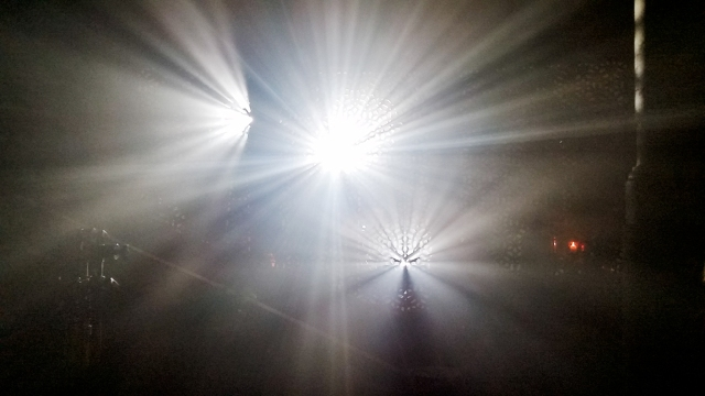 Light through the Lattice, Richmond, British Columbia, Canada