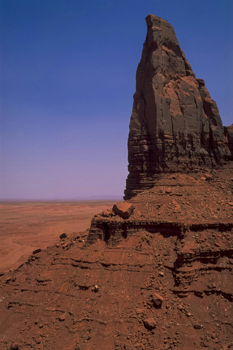 Butte, Monument Valley Navajo Tribal Park, Arizona, United States of America