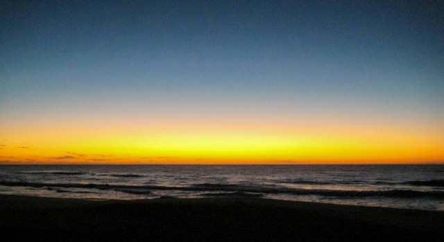 Golden Sunrise, Sunshine Beach, Noosa, Queensland, Australia