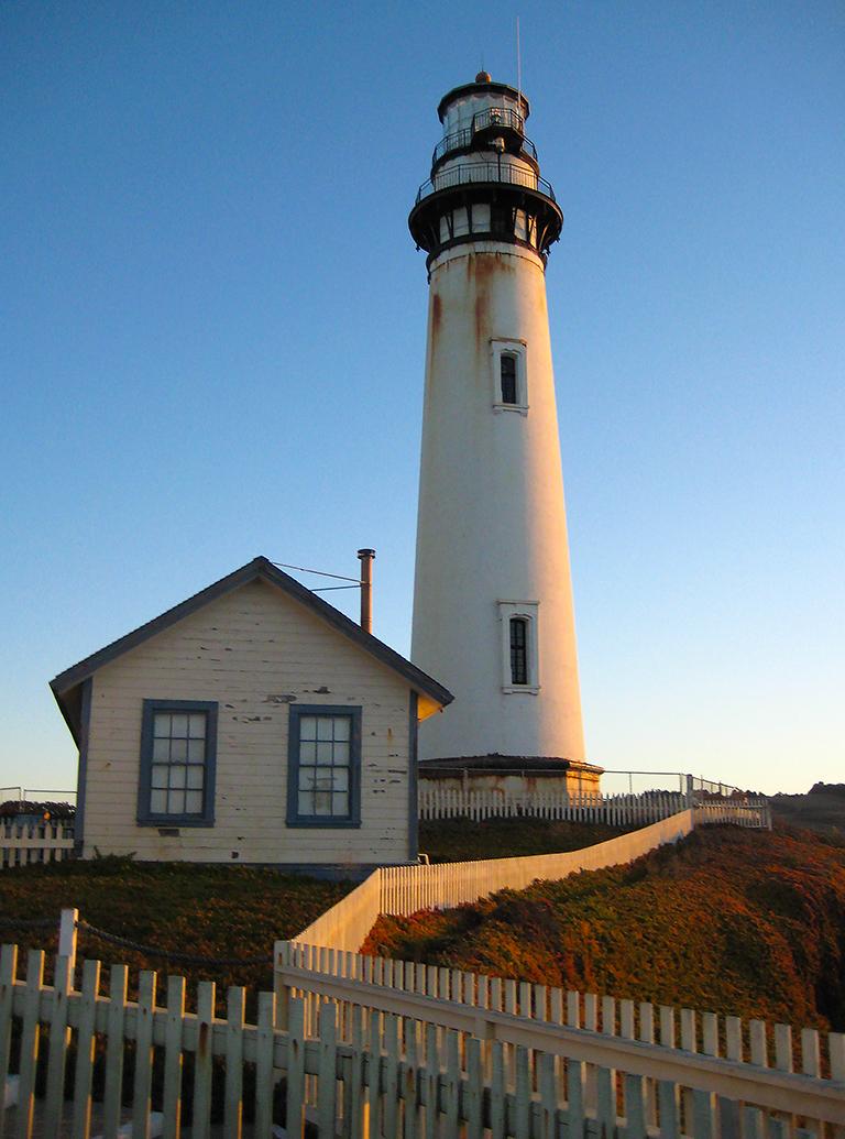 Sunrise, Pigeon Point Lighthouse, Near Santa Cruz, California, United States of America
