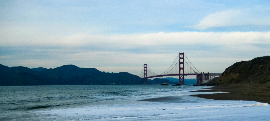 The Golden Gate Bridge, San Francisco, California, United States of America