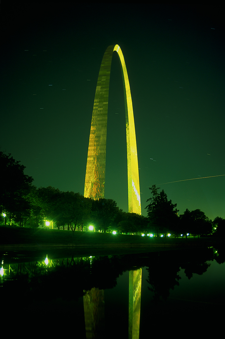 Gateway Arch, Jefferson National Expansion Memorial, St. Louis, Missouri, United States of America