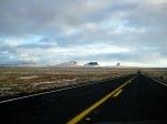 Winter Rangeland, Highway 87, Somewhere between WInslow and Phoenix, Arizona, United States of America