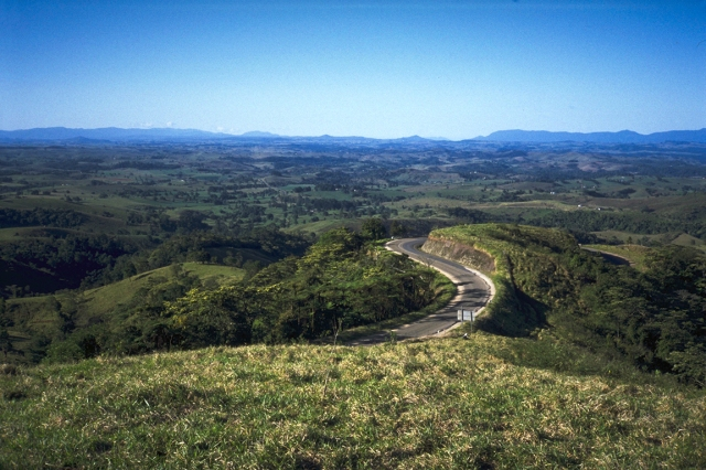 Winding Road, Atherton Tablelands, between Peeramon and Ravenshoe, Queensland, Australia