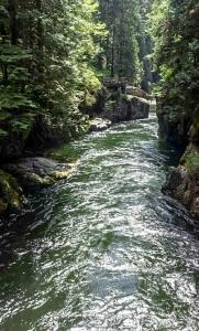Capilano River, North Vancouver, British Columbia, Canada