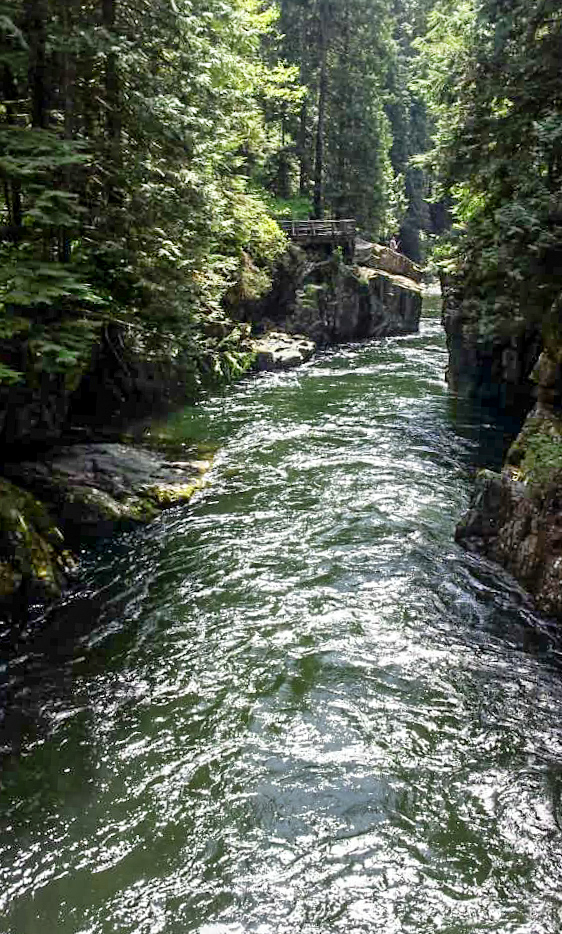 Capilano River, North Vancouver, British Columbia, Canada