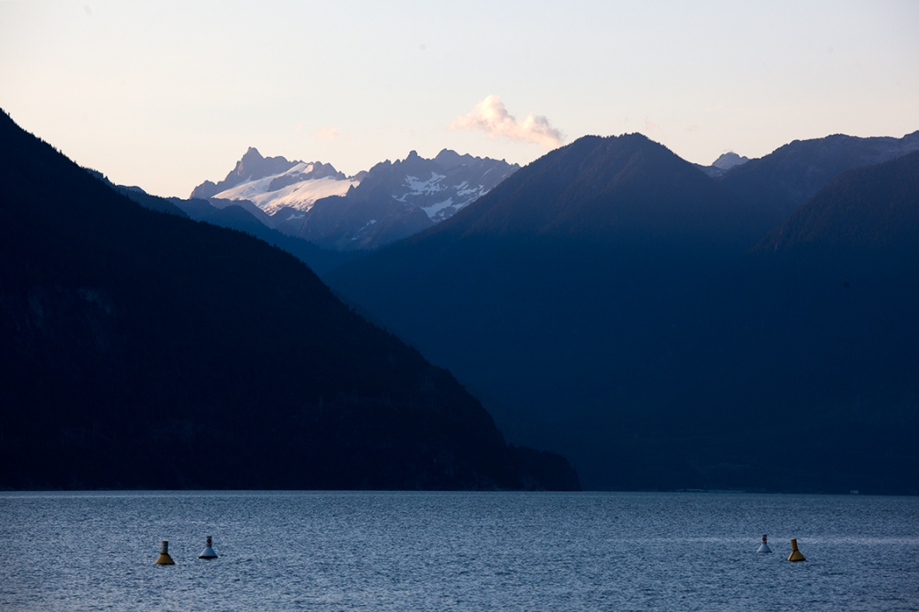Porteau Cove Provincial Park, Sea to Sky Highway, Howe Sound, British Columbia,Canada