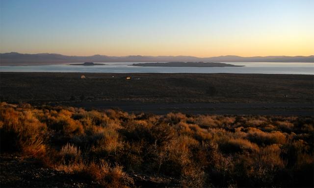 Sunset, Mono Lake, California, United States of America