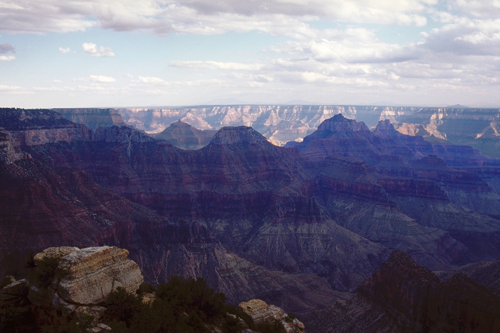 Bright Angel Point, North Rim, Grand Canyon National Park, Arizona, United States of America