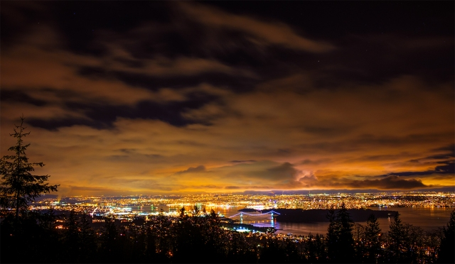 Vangroovy, Vancouver, From the Cypress Mountain Lookout, West Vancouver, British Columbia, Canada
