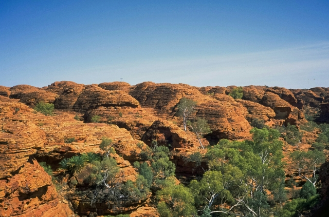 Sandstone Domes, Watarrka National Park, Kings Canyon, Northern Territory, Australia