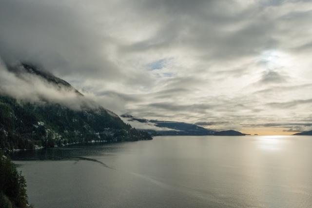 Sea to Sky, Sea to Sky Highway, Howe Sound, Toward Horseshoe Bay, British Columbia, Canada