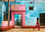 A little girl ran through it, Kashi (Old Varanasi), Uttar Pradesh, India