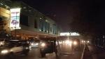Heavy Rush Hour Traffic, Lajpat Nagar Metro Station, New Delhi, India