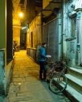 A boy and his bicycle, Kashi (Old Varanasi), Uttar Pradesh, India