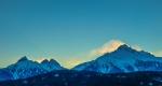 Tantalus Halo, Tantalus Mountain Range, Sea to Sky Highway, Squamish, British Columbia, Canada