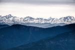 The Himalaya Range, Kunjapuri Devi Temple, Rishikesh, Uttarakhand, India