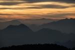 Himalayan Foothills Sunrise, Himalayan Foothills Sunrise, Kunjapuri Devi Temple, Rishikesh, Uttarakhand, India