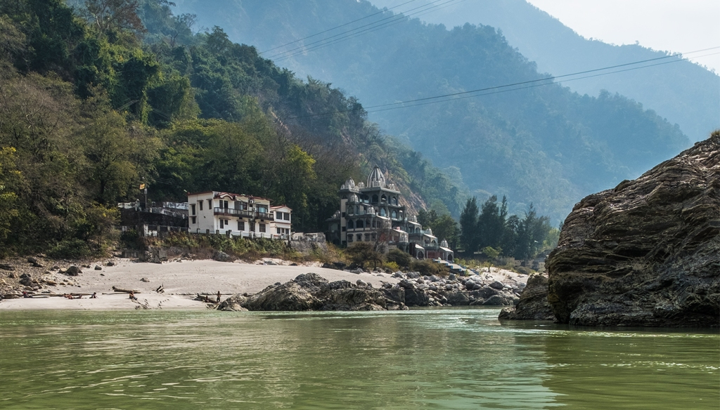 Trimurti Gurudatt Ashram, Ganga, The Ganges River, Rishikesh, Uttarakhand, India