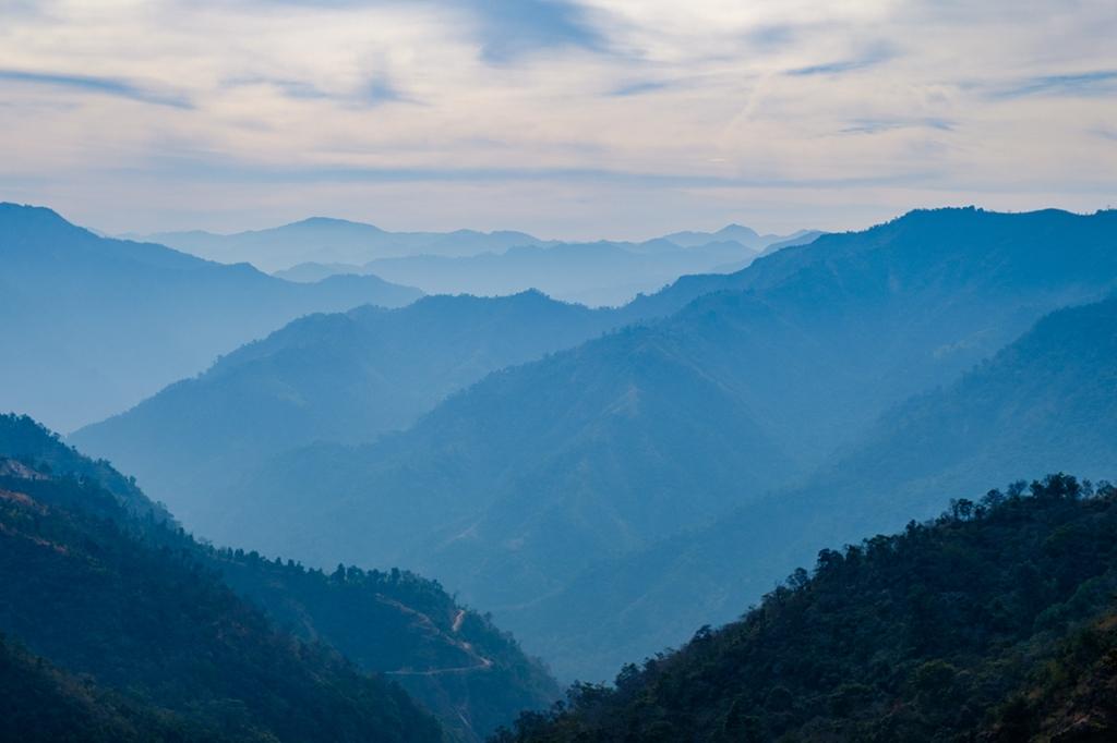 Himalayan Foothills II, Rishikesh, Uttarakhand, India