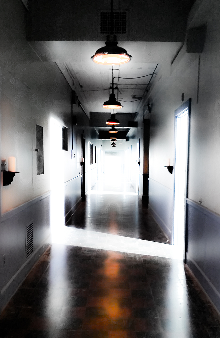 The Light, Crease Buildinig, Riverview Mental Hospital, Coquitlam, British Columbia, Canada