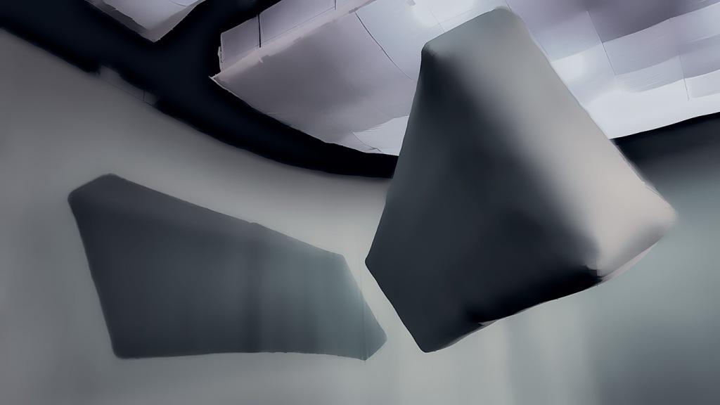 Suspended Monolith