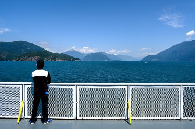 Queen of Surrey, Howe Sound, British Columbia, Canada