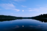 Silvery Moons, Lakelands Region, Okanagan, British Columbia, Canada