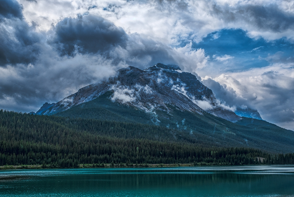 Angry Clouds, Banff National Park, Trans Canada Highway, Alberta, Canada