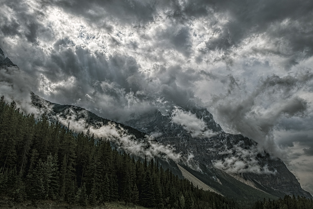 Cacophony, Rocky Mountains, Trans Canada Highway, British Columbia, Canada