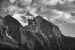 Ice and Rock, Banff National Park, Trans Canada Highway, Alberta, Canada