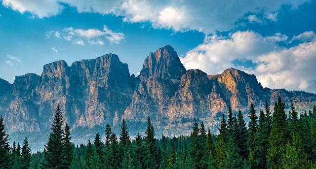 Magic Castle, Banff National Park, Alberta, Canada