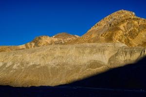 Sunset Silhouette, Athabasca Glacier, Rocky Mountains, Jasper National Park, Alberta, Canada-Edit copy