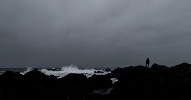 Beyond Horizon's Edge, Amphitrite Lighthouse, Wild Pacific Trail, Ucluelet, British Columbia Canada