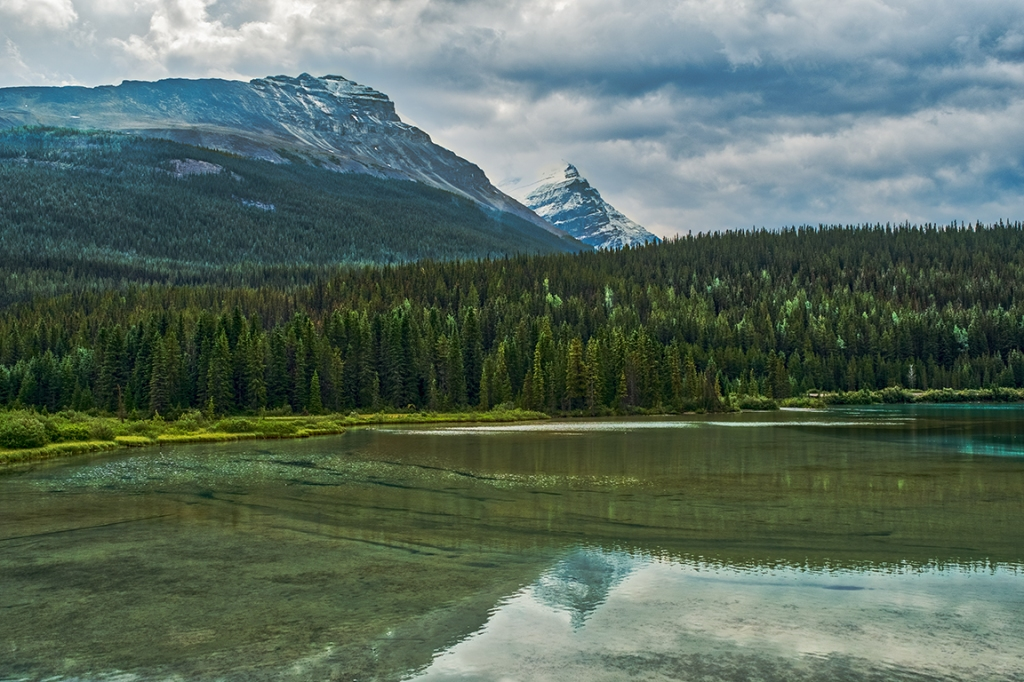 Sink Lake, Yoho National Park, Trans Canada Highway, British Columbia, Canada