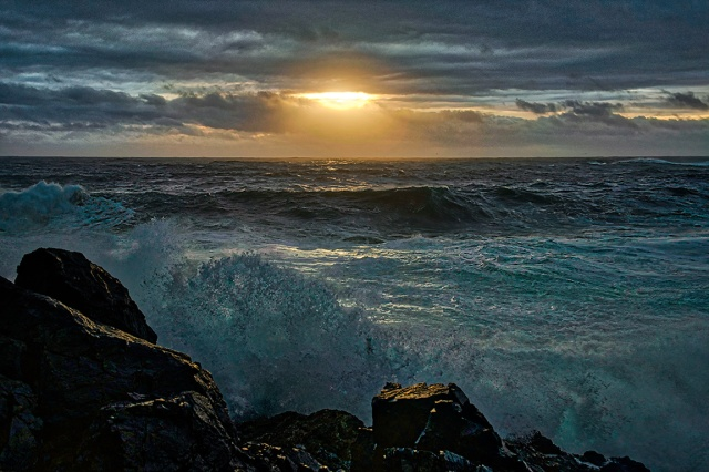 Storm Season, Cygnet Cove, Ucluelet, British Columbia, Canada