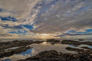 After the Storm, Wild Pacific Trail, Ucluelet, Vancouver Island, British Columbia, Canada