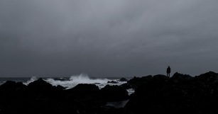Beyond Horizon's Edge, Amphitrite Lighthouse, Wild Pacific Trail, Ucluelet, Vancouver Island, British Columbia, Canada