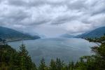Cloudy Sound, Britannia Beach, Howe Sound, British Columbia, Canada