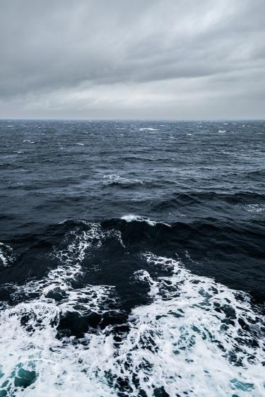 Coal Black Sea, Strait of Georgia, BC Ferries, British Columbia, Canada
