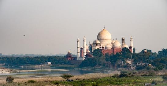 Come Closer Dear, Taj Mahal, from Red Fort, Agra, Uttar Pradesh, India