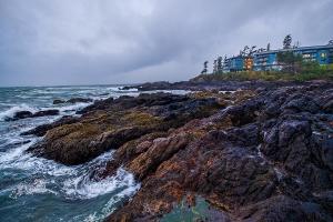 Cozy, Blackrock Resort, Ucluelet, Vancouver Island, British Columbia, Canada
