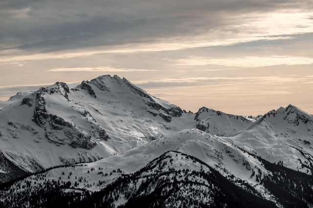 Castle Towers Mountain, From Whistler Mountain, British Columbia, Canada