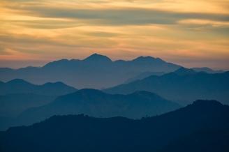 Himalaya Foothills Sunrise IV, Kunjapuri Devi Temple, Rishikesh, Uttarakahnd, India