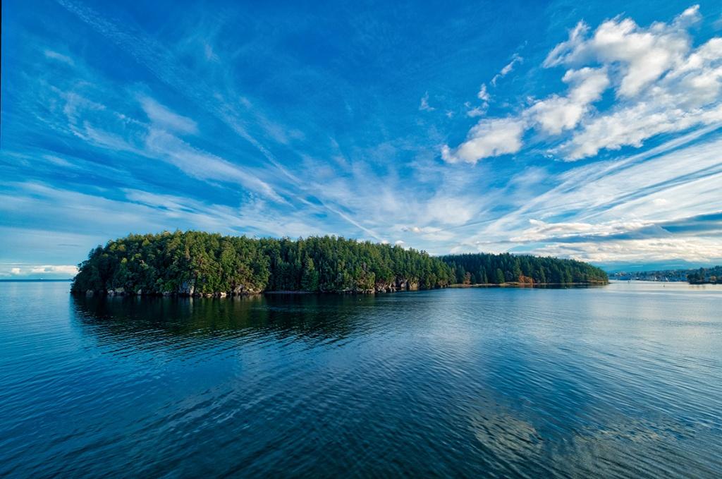 Islands, Newcastle Island Park, Departure Bay, Nanaimo, British Columbia, Canada