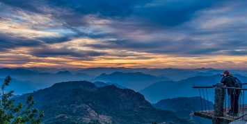 Katarzyna, Himalaya Sunrise, Kunjapuri Devi Temple, Rishikesh, Uttarakhand, India