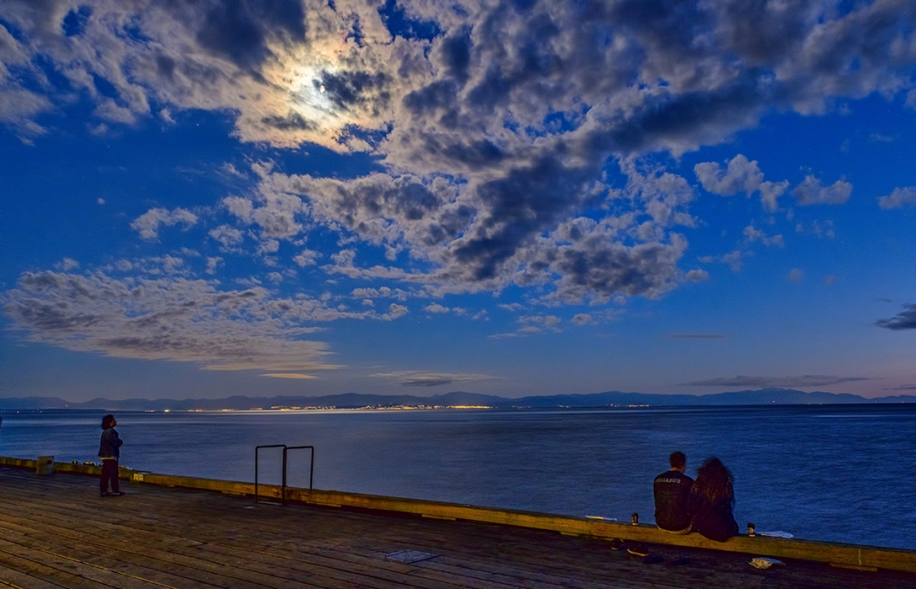 Moment of Repose, Davis Bay Pier, Sechelt, British Columbia, Canada