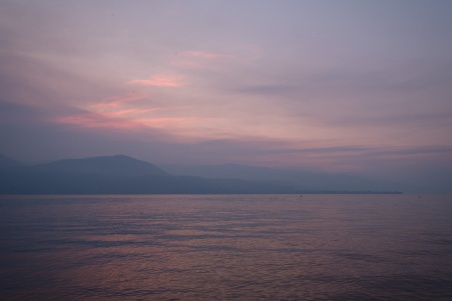 Pastel Twilight, Okanagan Lake, Vernon, British Columbia, Canada