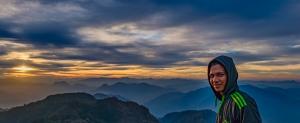 Rahul, Kunjapuri Devi Temple, Himalayan Foothills, Rishikesh, Uttarakhand, India